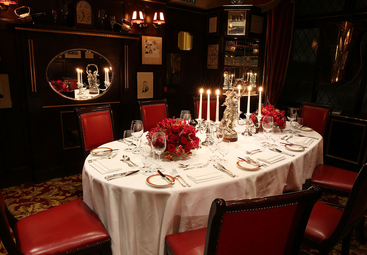 Private Dining Amp Events Rules Restaurant