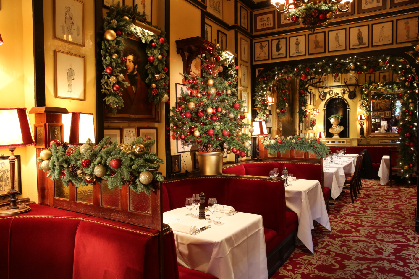 Image result for christmas restaurant