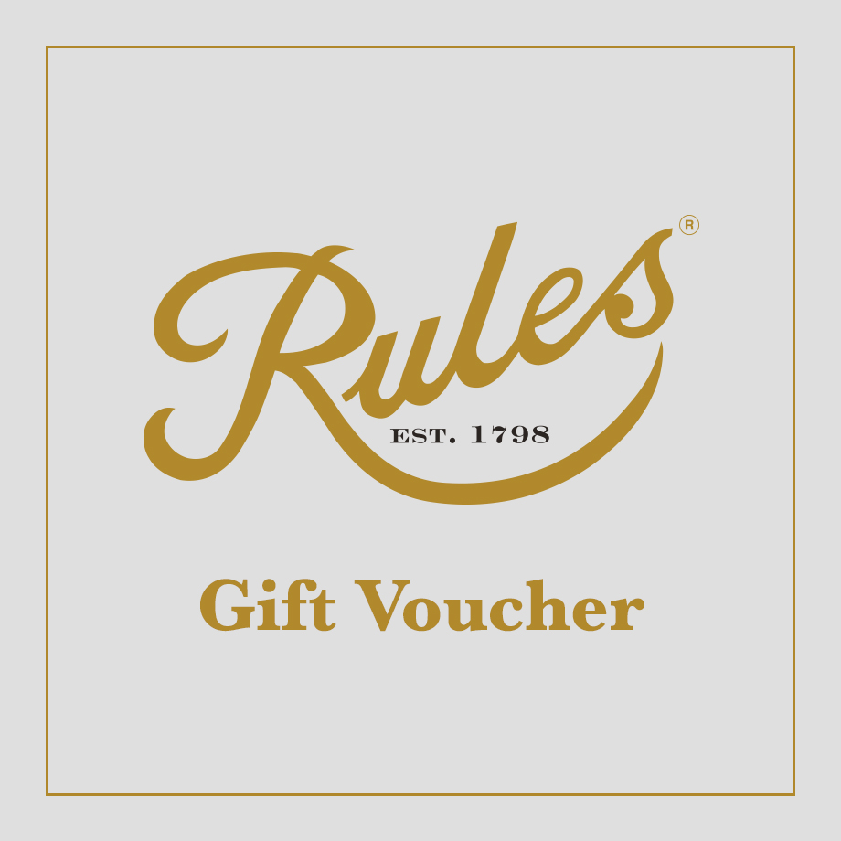 Gift Vouchers Archives Rules Restaurant